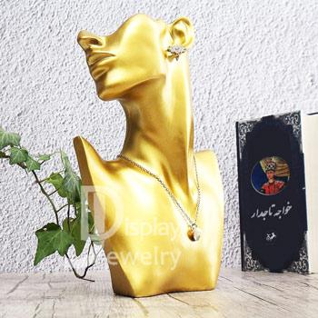 مانکن رزین طلا و جواهر